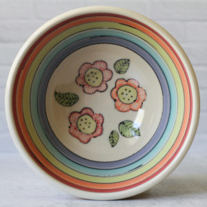 Button Flower serving bowl, 9-inch